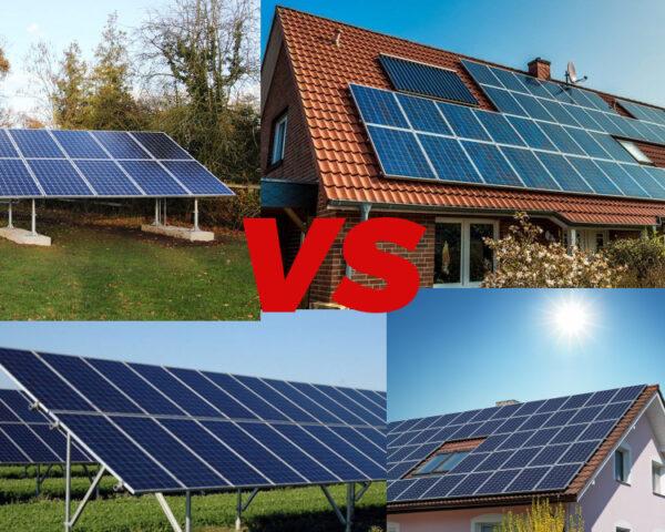 Moduły fotowoltaiczne – na dachu czy na gruncie?